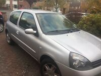 Renault Clio 1.2 Campus Sport i music, 2 owners, Full MOT and car history, few minor scratches