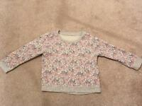MOTHERCARE 2-3 yrs sweat shirt in lovely condition