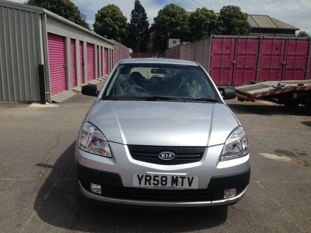 2008 kia rio 1.4 petrol manual 5 door mot 27/2/2018 £1299 no vat