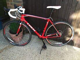 Trek 2.1 Madone Viper red /black road racing bike Shimano 105