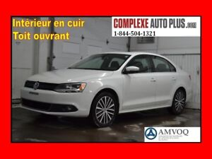 2014 Volkswagen Jetta Highline 1.8T TSI *Cuir,Toit ouvrant,Mags