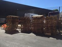 FREE 88 wooden pallets 1200x1000. Collection only south London. Ex-Cornora set.