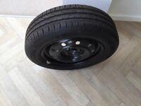 Suzuki Swift Spare Wheel & Tyre