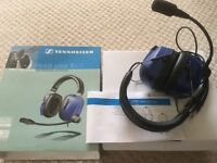 Aviation head set . HME 100 series for general aviation made by Sennheiser. As new and rarely used
