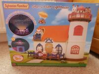 SYLVANIAN FAMILIES STARRY POINT LIGHTHOUSE - NEW