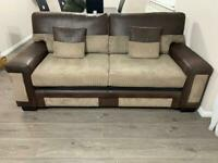 3,2 and 1 sofa set. Mint condition. £350