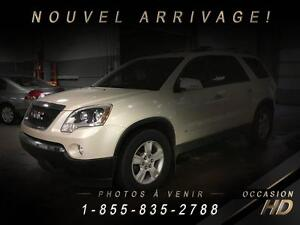 GMC Acadia 2010 + AWD + SLE + 7 PASSAGERS + JAMAIS ACCIDENTÉ + S