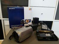 Sony Handycam DCR-SR33 Video Camera Camcorder, 40GB HDD, Carl Zeiss Lens, 40x Optical Zoom