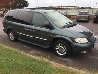 Chrysler Grand Voyager Limited Edition. Automatic. FSH. In absolutely incredible condition.