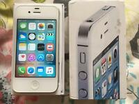iPhone 4S Unlocked white Very good condition