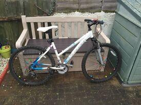 """Raleigh AllTerrain 10 bike 26"""" wheels 21 speed v lightly used oiro £100"""