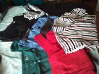 Collectif Vintage dresses and wraps: 6 x dresses plus 4 wraps: Women's 14-16