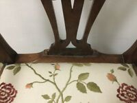 Antique carver chair