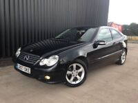 2007 Mercedes-Benz C Class 1.8 C180 Kompressor SE 2dr 1 Previous Onwer, Long MOT, Finance Available