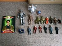 Collection of Doctor Who items