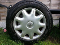 vauxhall zafira spare wheel/ tyre in 25 pound