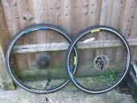 Job lot of bike parts bars, hydraulic disc brakes, wheels, headset, mountain bike, road bike,29er,