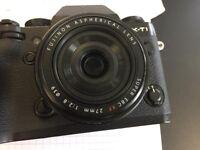 Fujifilm XF27mm lens (XF-27 Fujinon)