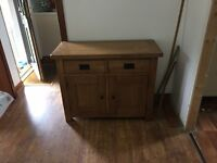 DINING ROOM TABLE 4 CHAIRS WITH MATCHING SIDEBOARD EX ANDERSON INVERURIE