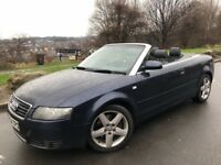 2004 54 AUDI A4 SPORT 2.5 TDI AUTOMATIC/ TRIPTRONIC # LEATHER # ELECTRIC HOOD# 2 OWNERS
