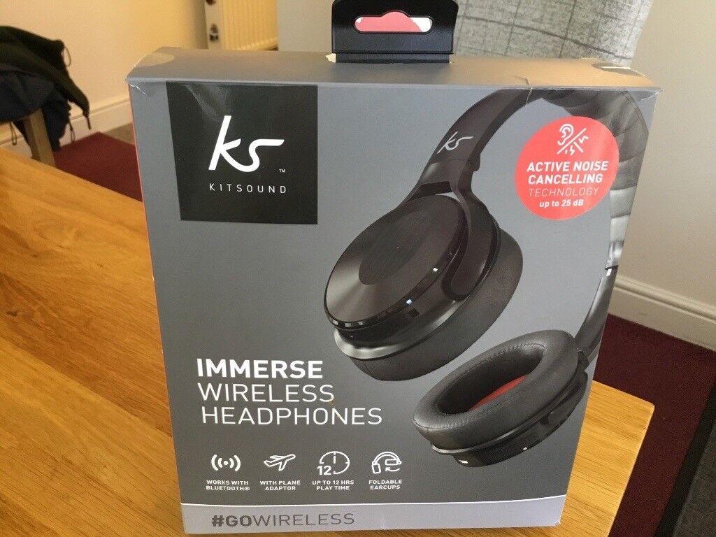 394080f6b61 Kitsound Immerse Wireless Headphones.   in Tullibody ...