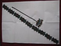 Ladies Antique Handcrafted Persian Belt - £7.00; and Antique Handcrafted Persian Pendant £5.00