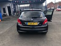 Peugeot 207 1.6 diesel MOT low mileage only 77,000 on the clock £20 road tax good condition
