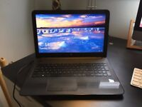 """HP Laptop / Notebook 15"""" Intel 1.6GHZ 8GB RAM - Basically Brand New - Complete with carry case"""