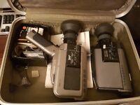 JVC GX-88E Camcorder x 2 plus accessories