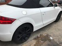 Audi TT tfsi 2.0 stronic white