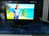 19 inch Slim LED HD Ready TV, Media Player Functions, Record via USB FlashDrive. Perfect Caravan etc