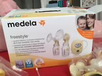 Medela freestyles electrical breast-pump
