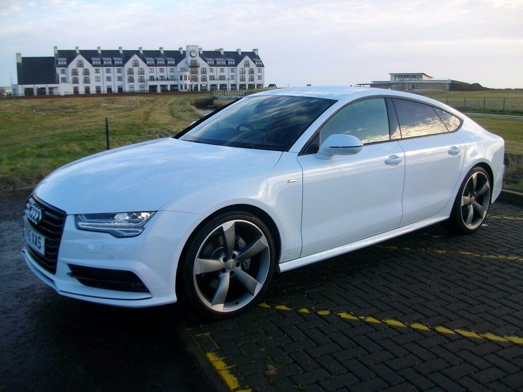 Audi A7 3.0 Tdi Black Edition Sportback Automatic very low miles