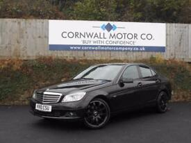 MERCEDES-BENZ C CLASS 1.8 C180 CGI BLUEEFFICIENCY SE 4d AUTO 156 BHP BLU (black) 2010