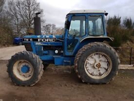ford t15 4wd tractor