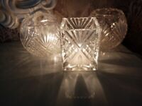 Next Cut Glass Table Lamps