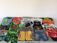 5 Boys Clothes Bundle Age 18-24 Mths, Gap, Aden & Anais, Shorts, Sun Shirts, Togs