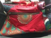 Desigual soft cloth shoulder bag