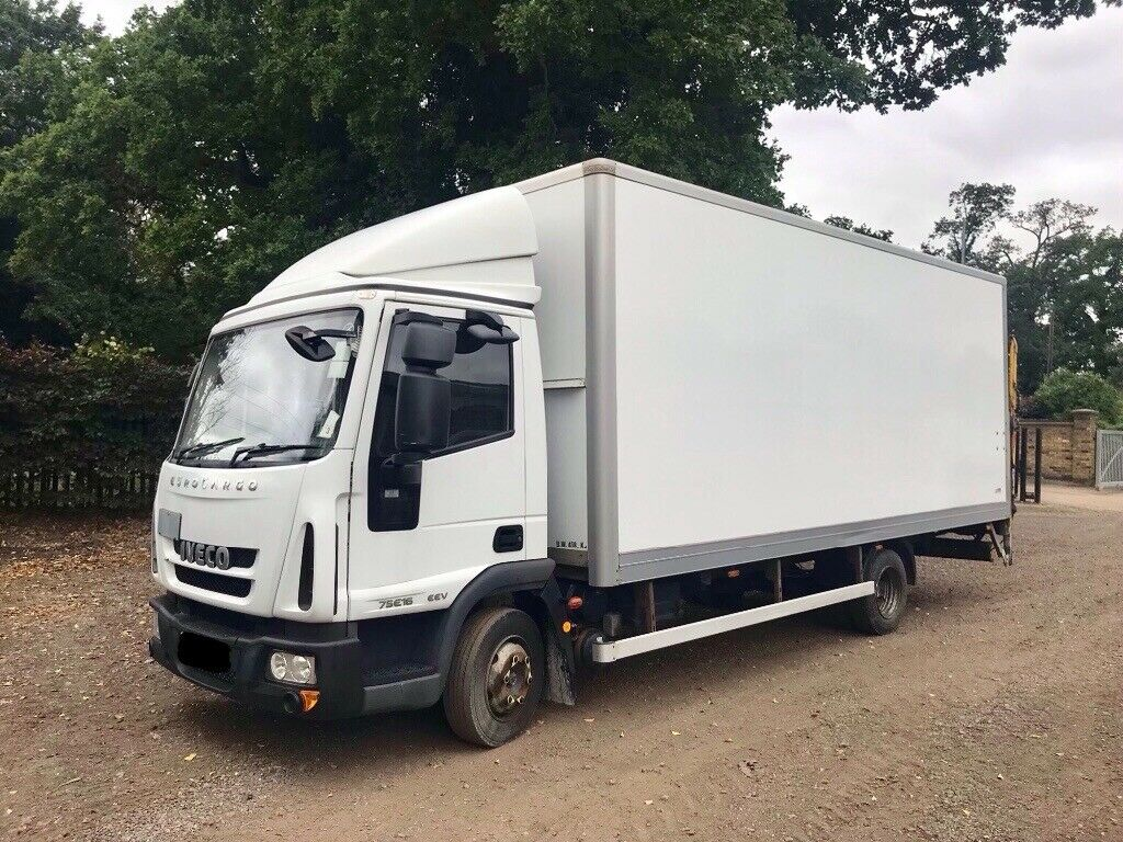 IVECO EUROCARGO 7 5 TONNE 20FT BOX WITH TAIL-LIFT 2012 12-REG AUTOMATIC  LORRY DRIVES EXCELLENT | in Enfield, London | Gumtree