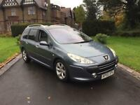 2006 56 PEUGEOT 307 SW 1.6 HDI SE ** 82000 MILES ** SERVICE HISTORY