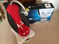 4moms mamaRoo - Red in Perfect Condition
