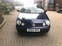 VW polo Automatic 2005 one year mot only £1100