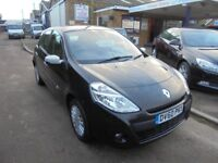 2010 60 renault clio 1.1 16v i music 5 door, 12 months mot, 30 + cars in stock.