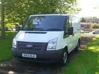 13 Reg Ford Transit 100 T260 (58.,000 Miles) Finance Available. Fsh. (just had a full service)