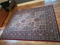 Two large Ikea Rugs (Valby Ruta) plus Runner Hall Rug
