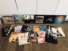 "Job Lot of 20 12"" Vinyl Records inc. Depeche Mode, Iron Maiden, Grace Jones, Van Halen, The Who, etc"