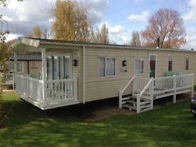 2014 Bluebird Caprice static caravan for sale at Haven Hopton Holiday Village