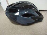 Btwin 100 Bike Helmet --- Dark Grey 54-58cm