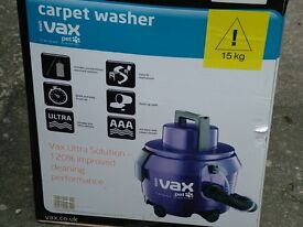 VAX PET CARPET / HOOVER CLEANING MACHINE IN VERY GOOD CONDITION