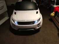 Kids electric Range Rover ride on